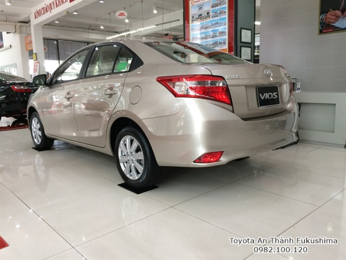 Xe ôtô Toyota Vios 2016 ở HCM, bạn cần tìm đại lý Toyota chính hãng, nhiều năm uy tín, đến ngày Đại lý Toyota 100% vốn Nhật - Toyota An Thành Fukushima ngay hôm nay để được tư vấn chương trình mua xe Vios mới nhất
