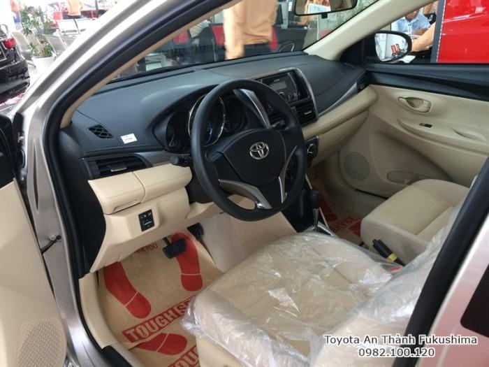 Xe Toyota Vios khuyến mại HCM từ Đại lý Toyota 100% vốn Nhật - Toyota An Thành Fukushima
