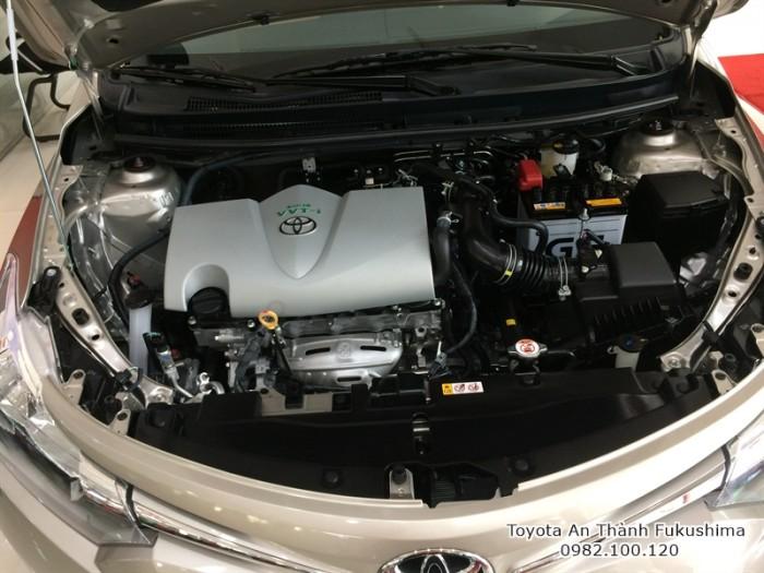 Đai lý Toyota Sài Gòn - xe Toyota Vios 2017 được bán tại Đại lý Toyota 100% vốn Nhật - Toyota An Thành Fukushima, gọi đến 0982 100 120 để được tư vấn cụ thể nhất!