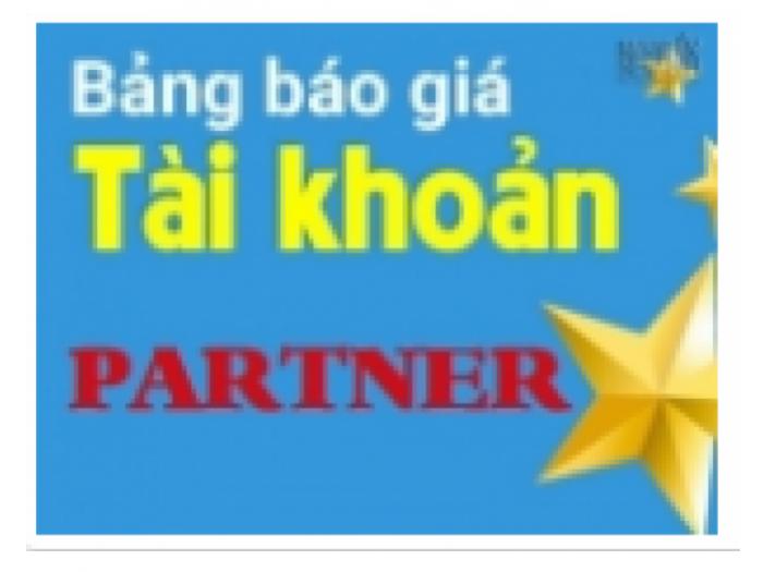 Tôi là thành viên của Partner!