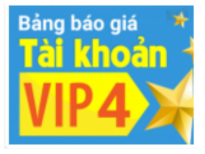 Trở thành VIP 4: Hiệu quả gấp 15 lần tài khoản bình thường! Tại sao không?