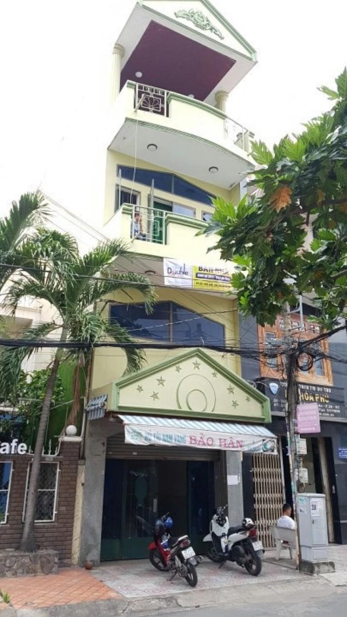 Bán gấp căn nhà MT khu cư xá Chu Văn An, Bình Thạnh, 3 lầu, đúc thật, 6pn