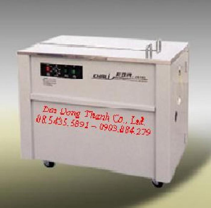 Máy đóng dây đai nhựa tự động và bán tự động - chaly JN 7400