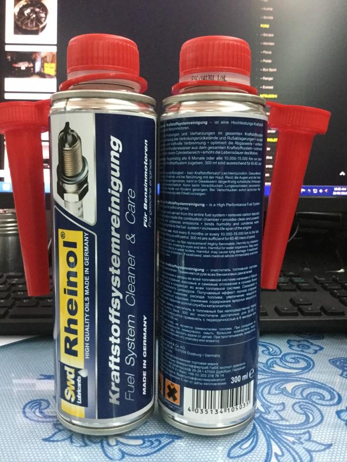 Vệ sinh & chăm sóc hệ thống nhớt, phun xăng, phun diesel 2