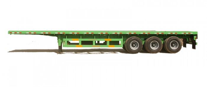 Rơ mooc sàn Doosung tải trọng 31.8 tấn 3 trục giá rẻ cạnh tranh 330 triệu