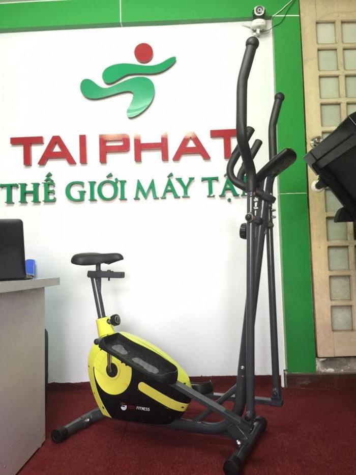 Hình ảnh xe đạp tập thể dục Tech Fitness TF - 68EA.   Thiết kế tổng quan của x...