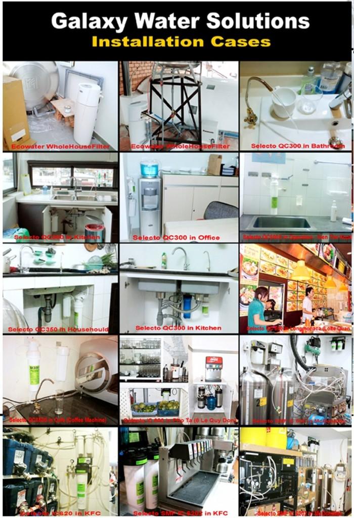 Hệ thống lọc nước Selecto rẻ nhất,chất lượng Tp.HCM