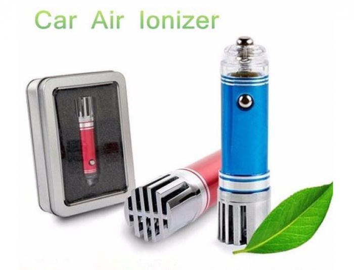 Máy lọc không khí mini lonkini, khử mùi ô tô hiệu quả nhất