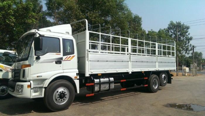 Tây ninh, chuyên bán xe tải Auman C1500, 3 giò, 3 chân, tải 15 tấn, 16 tan, đời 2016, trả góp, giá tốt