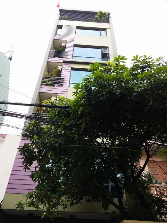 Bán nhà 7 tầng, mt 6m, 127m2, ô tô, thang máy, gía12,89 tỷ tại Kim Giang.