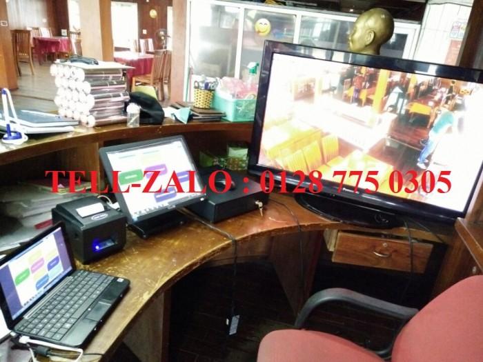 Máy tính tiền cảm ứng cho quán cafe, nhà hàng tại Bình Dương0