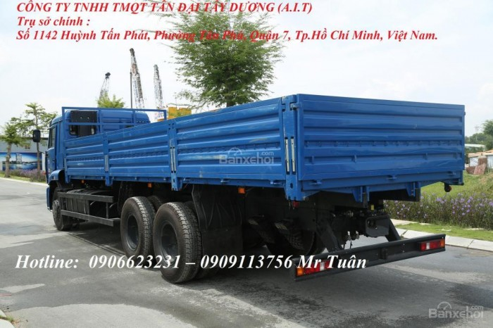 Bán xe tải thùng Kamaz 65117 (tải trọng 14 tấn) mới 2015 & 2016 - Kamaz Bình Dương, Kamaz Bình Phước