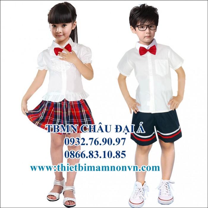 Đồng phục giá rẻ , các loại đồng phục mầm non , trẻ em0