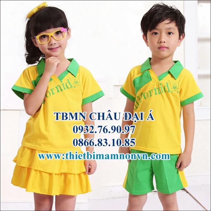 Đồng phục giá rẻ , các loại đồng phục mầm non , trẻ em1