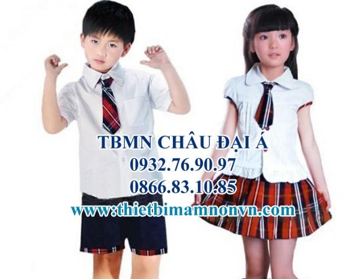 Đồng phục giá rẻ , các loại đồng phục mầm non , trẻ em5