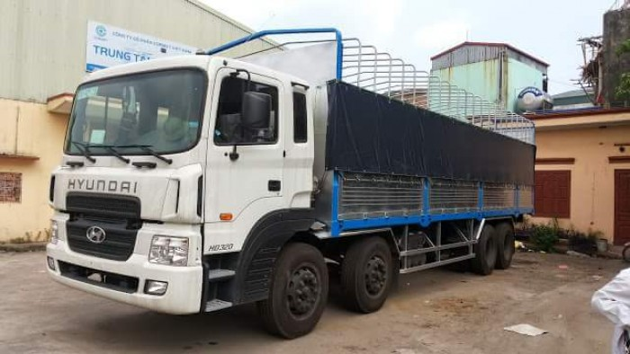 Mình cần bán xe oto tải Hyundai 4 chân đời 2014 đăng ký 07/2014 HD320 máy 380 nhâp khâu nguyên chiêc