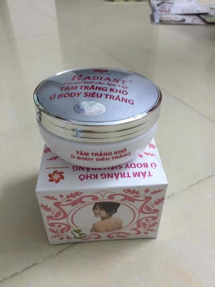 Tắm trắng khô radiant (ủ body)0