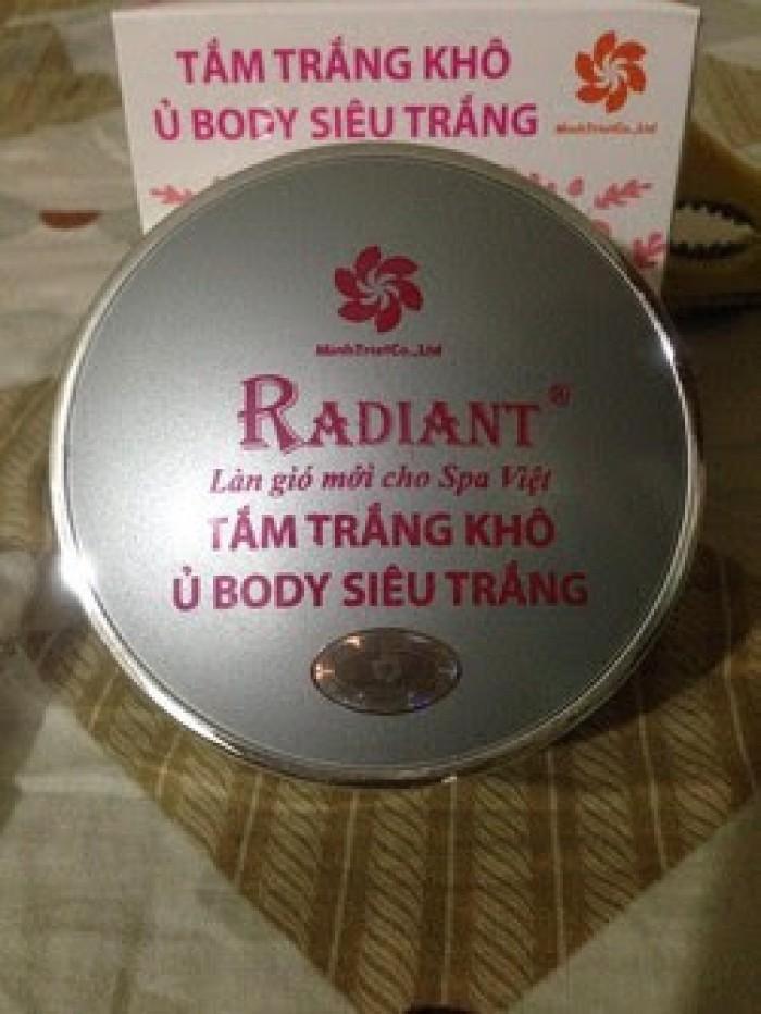 Tắm trắng khô radiant (ủ body)1