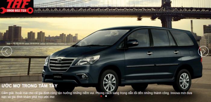 Ưu đãi tháng 10 khi mua Xe Toyota Innova G