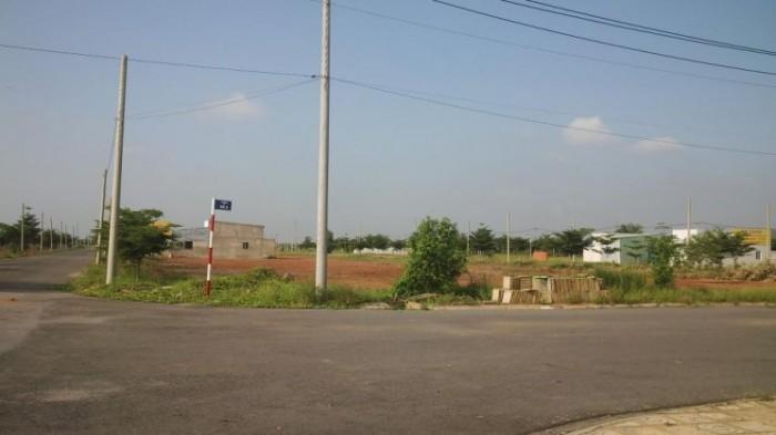 Bán gấp lô đất 130m2, mặt tiền 42m, đối diện khu công nghiệp thích hợp kinh doanh, SHR bao sang tên
