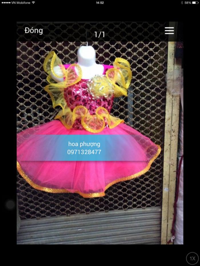 váy đầm cho mẫu giáo mầm non