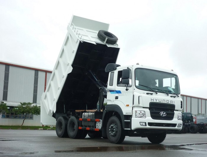Xe ben Hyundai 15T HD270 nhập khẩu máy cơ giá tốt