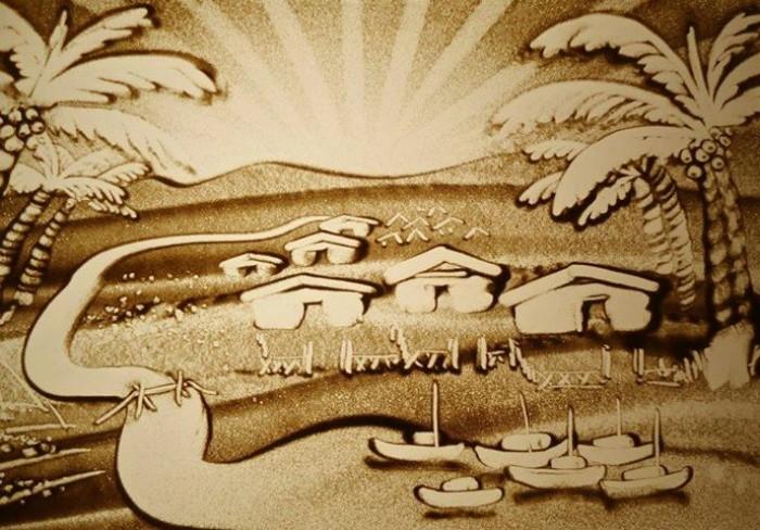 Cung cấp họa sĩ vẽ tranh cát