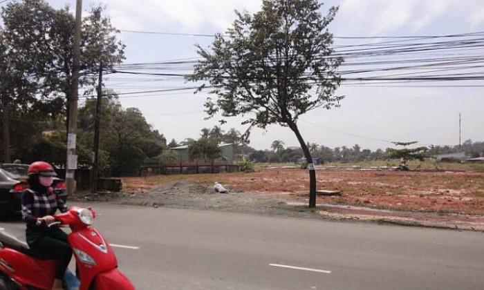 Đất nền thổ cư sổ đỏ ngay MT Bùi Hữu Nghĩa sát cầu Mới Hóa An