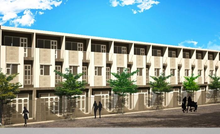 Nhà phố ven sông nhà bè, chỉ 900 triệu/căn, ngân hàng hỗ trợ vay lên đến 50%