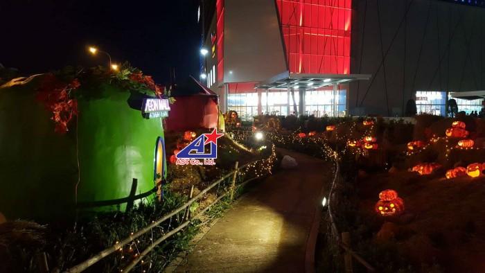 Ánh Sao Trẻ - Chuyên thiết kế, thi công mô hình trang trí Halloween - Thi công trang trí Halloween tại Aeon Mall Bình Tân