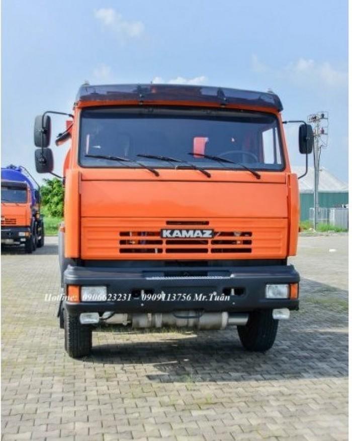 Bán xe vận chuyển xăng dầu Kamaz 23m3, Xe chở dầu điều 23m3 mới - Kamaz Bình Dương, Kamaz Bình Phước
