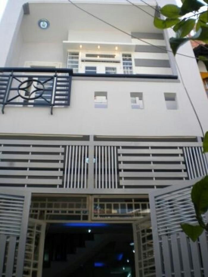 Nhà 1 Lầu Đúc Thật dt 84m2 SHR đg Phan Văn Hớn Gía 336tr