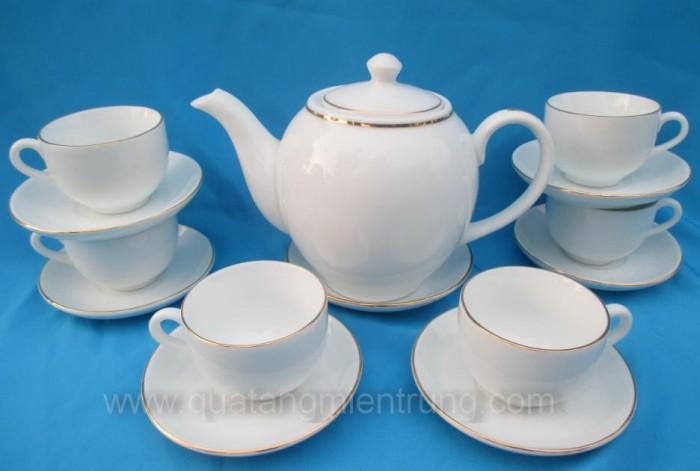 Bộ ấm trà in ấn tại Quảng Ngãi