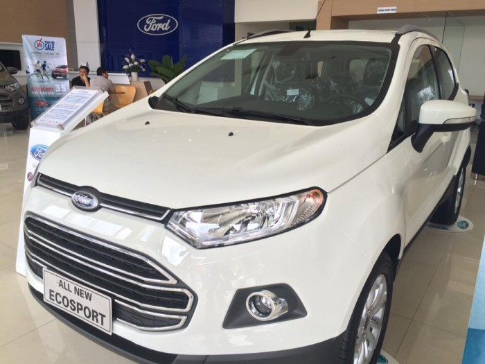 Ford Ecosport sản xuất năm 2016 Số tự động Động cơ Xăng