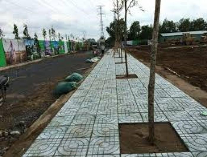 Đất Mặt tiền QL 1A, XDTD, đã có sổ hồng, Khu công nghiệp Vĩnh Lộc 2