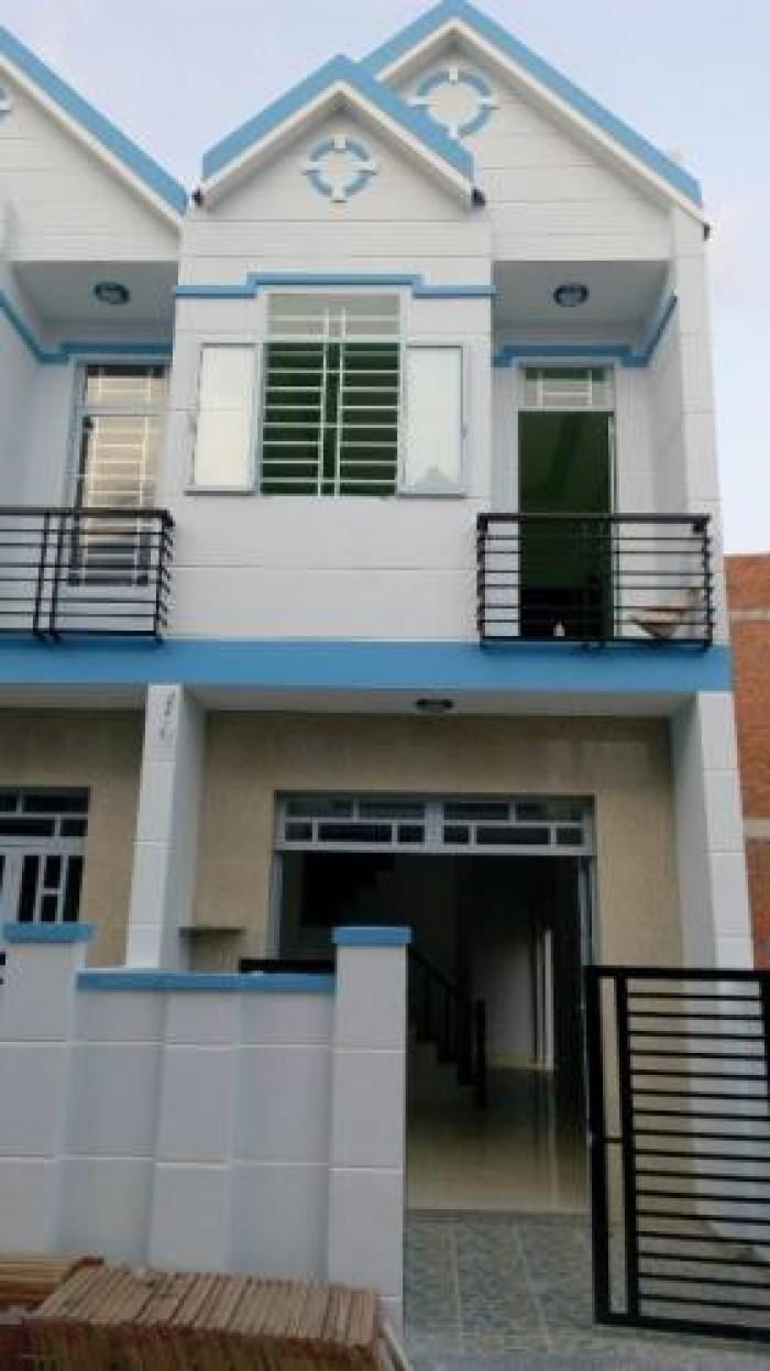 Nhà mới 100% sổ hồng riêng DT: 5x16m