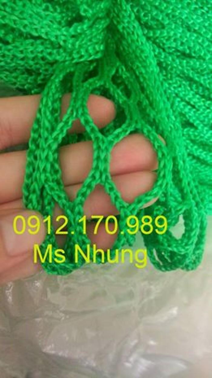 Lưới an toàn 2.5cm màu xanh lá
