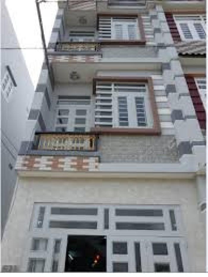 Bán gấp nhà hẻm  XH 7m đường Hoàng Văn Thụ, Dt 54m2, nhà mới 1T 3L 5PN – giá 6 tỷ.