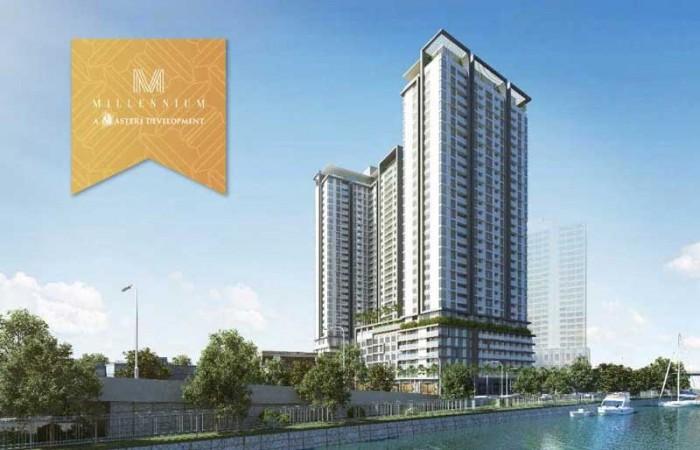 Hot mở bán ch millennium masteri quận 4, 40tr/m2 chiết khấu 11.5%