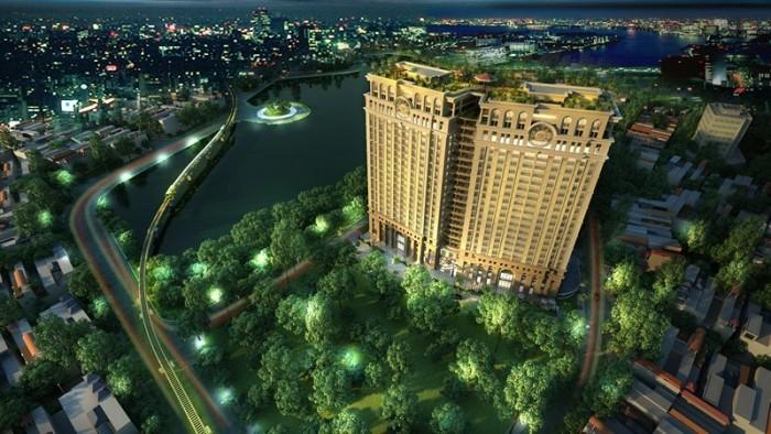 Căn đẹp tầng cao view hồ A2001 tại dự án 36 Hoàng Cầu