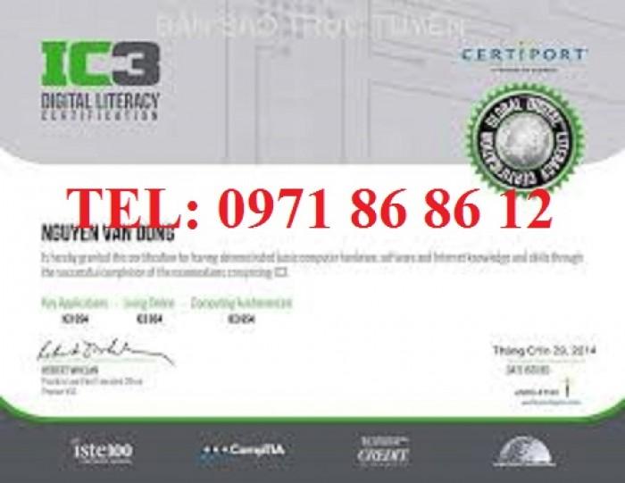 Ôn thi tin học IC3 cấp tốc ở Hà Nội?