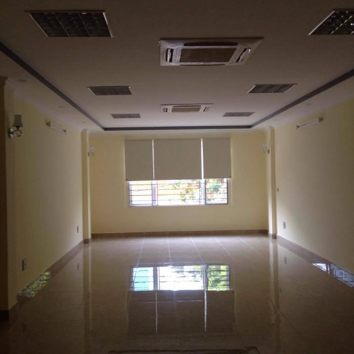 Cho thuê  văn phòng thông sàn,siêu đẹp mặt đường hoàng ngân dt 80m2.giá 13tr/thg
