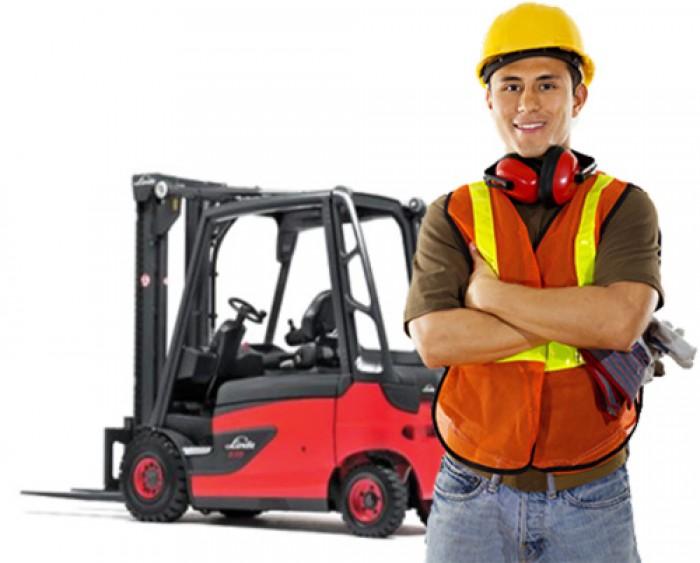 Học lái xe nâng, đào tạo cấp chứng chỉ lái xe nâng
