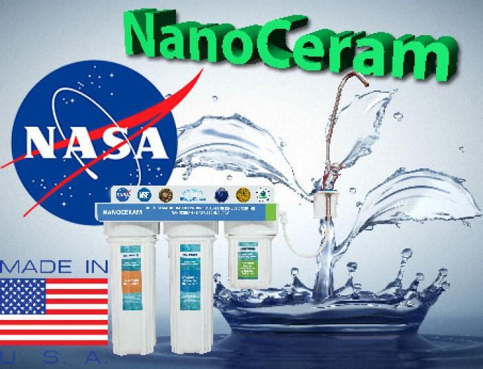 Hệ thống lọc nước nhập khẩu USA nanoceram, chất lượng.