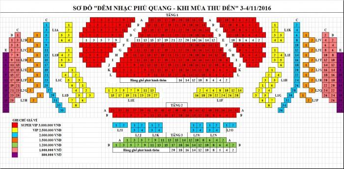 Bán vé đêm nhạc Phú Quang  Rồi mùa đông sẽ qua ngày 5&6/11/2016 tại Nhà hát lớn Hà Nội