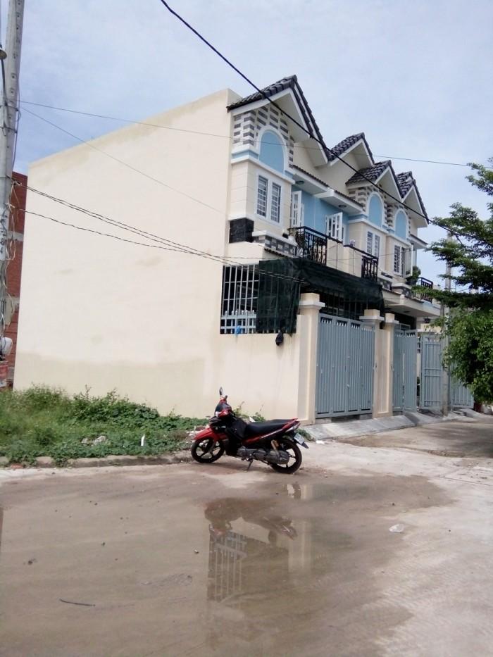 Bán đất 2 mặt tiền đường Thạnh Lộc 15, P. TL, Q12, Sổ hồng riêng (7m x 13m)