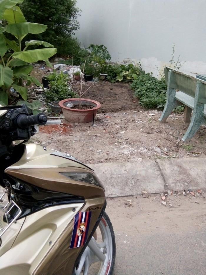 Bán đất mặt tiền đường Thạnh Lộc 41, P. Thạnh Lộc, Q12, Sổ hồng riêng (9mx 23m)