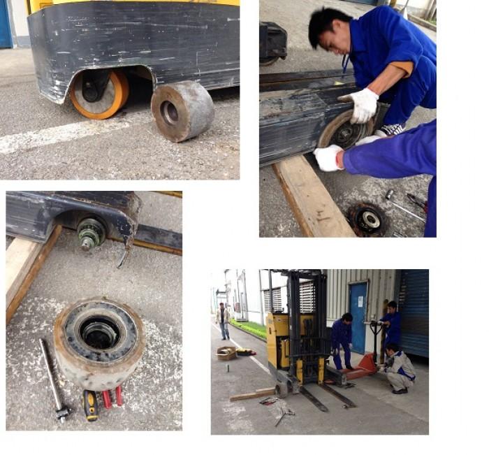 Đội ngũ sửa xe nâng hàng 24/24 – Gọi Ngay