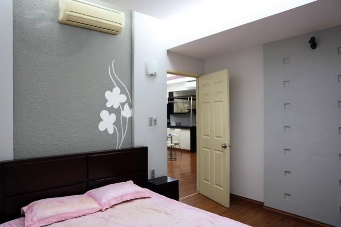 Cần cho thuê gấp căn hộ cao cấp Thế Hệ Mới  Quận 1, Dt : 110 m2, 3PN, nhà mới đẹp,