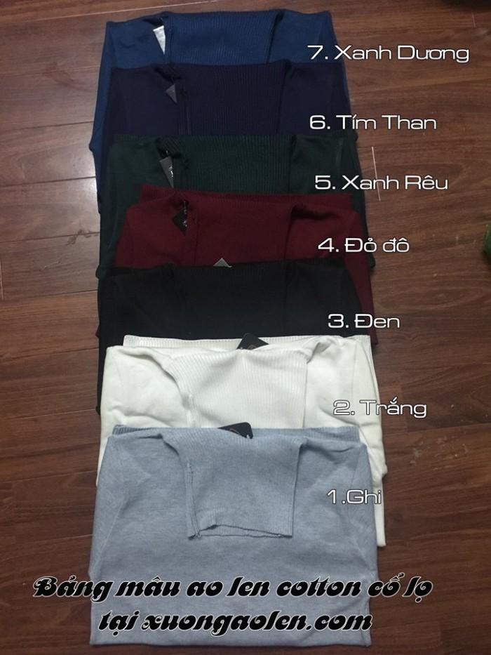 Nguồn hàng áo len nam cổ lọ tại Hà Nội